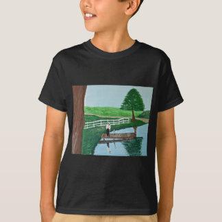 男の子および彼の祖父 Tシャツ