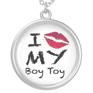男の子のおもちゃ シルバープレートネックレス