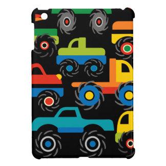 男の子のためのクールなモンスタートラックの交通機関のギフト iPad MINIケース