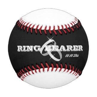 男の子のための野球の結婚指輪の持参人のギフトのアイディア ベースボール