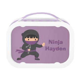 男の子のためのNunchakuのかわいく小さい忍者 ランチボックス