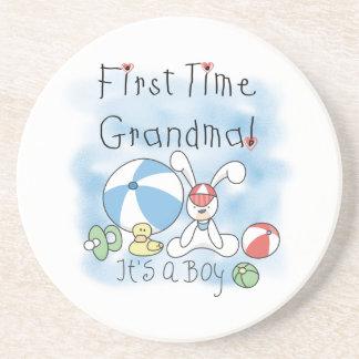 男の子のギフトの初めての祖母 コースター