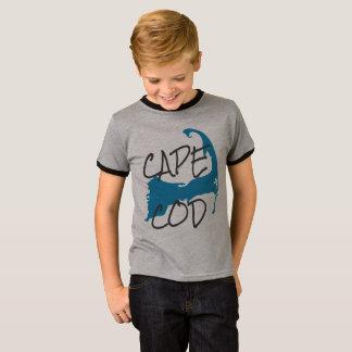 男の子のケープコッドマサチューセッツワイシャツ Tシャツ