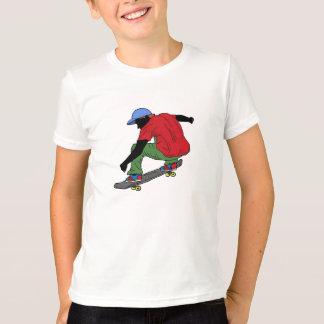 男の子のスケートボードのワイシャツ Tシャツ