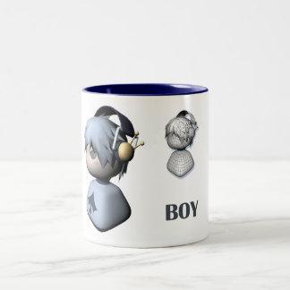 男の子のスタイル ツートーンマグカップ