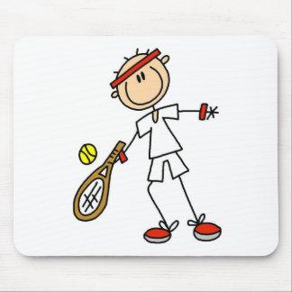 男の子のテニス選手のマウスパッド マウスパッド