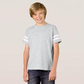 男の子のフットボールのワイシャツ Tシャツ