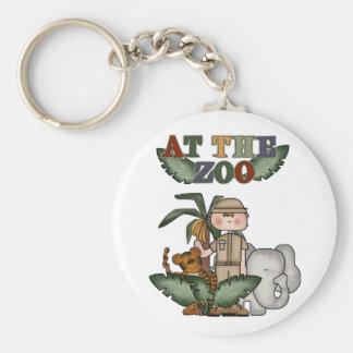 男の子の動物園Keychain キーホルダー