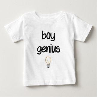 男の子の天才 ベビーTシャツ
