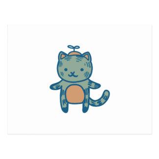 男の子の子猫 ポストカード