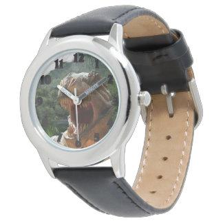男の子の恐竜の写真の腕時計のクリスマスのギフト 腕時計
