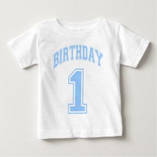 男の子の第1誕生日 ベビーTシャツ