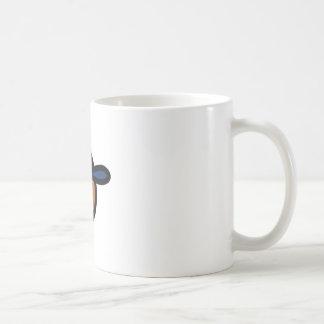 男の子の顔 コーヒーマグカップ