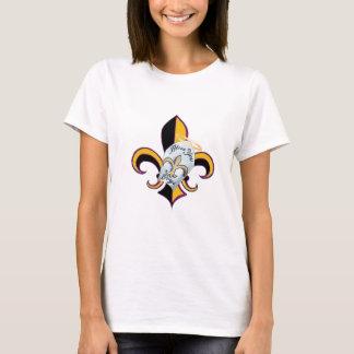 男の子の(紋章の)フラ・ダ・リ賛美して下さい Tシャツ
