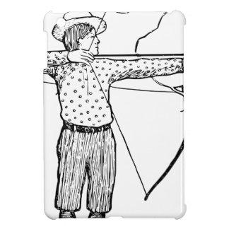 男の子のArcherのイラストレーション iPad Miniケース