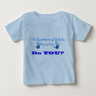 男の子のSOSの乳児のTシャツ ベビーTシャツ