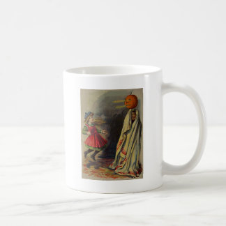 男の子は女の子に悪ふざけをします コーヒーマグカップ
