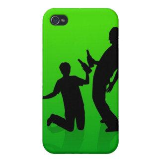 男の子は男の子のiPhone 4のSpeckの場合です iPhone 4 カバー
