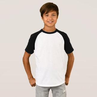 男の子は袖のRaglanのTシャツをショートさせます Tシャツ