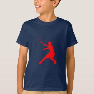 男の子 の子供のスポーツ・ウェアのためのテニスのTシャツ Tシャツ