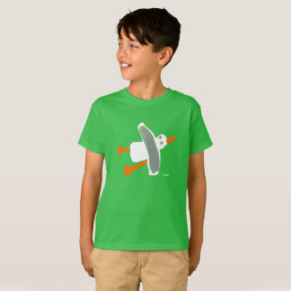 男の子-ジョンのダイアーのカモメのTシャツ Tシャツ