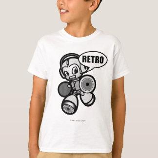 男の子-スピーカーの馬蝿の幼虫-ワイシャツ Tシャツ