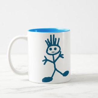 男の子 ツートーンマグカップ