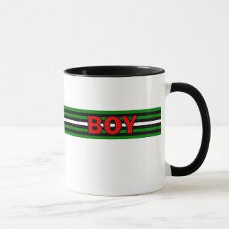 男の子(男の子の旗)のマグ マグカップ