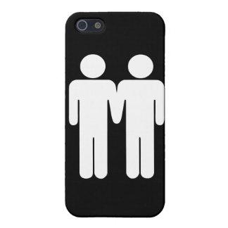 男の子 + 男の子 iPhone SE/5/5sケース