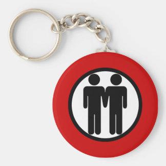 男の子 + 男の子Keychain キーホルダー