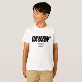 男の子Cruzinボストン Tシャツ
