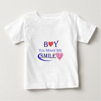 男の子smile.png ベビーTシャツ