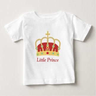 男の赤ちゃんのための宝石を持つCrownエレガントな王子 ベビーTシャツ
