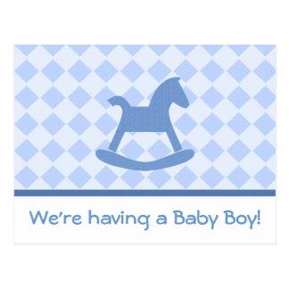 男の赤ちゃんのコレクション ポストカード