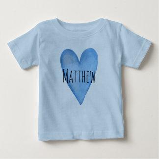 男の赤ちゃんのジャージーの愛されたカスタマイズ可能なTシャツです ベビーTシャツ