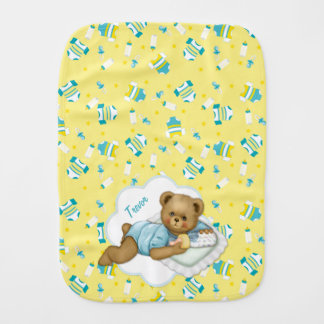 男の赤ちゃんのテディー・ベア-バープクロス バープクロス