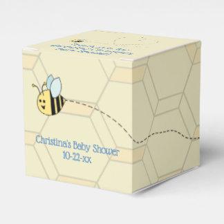 男の赤ちゃんの蜂の好意箱 フェイバーボックス