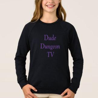 男のDungeonTVの女の子のスエットシャツ スウェットシャツ