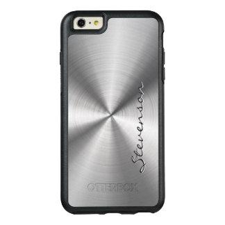 男らしい金属放射状のステンレス鋼の一見 オッターボックスiPhone 6/6S PLUSケース