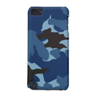 男らしく青い迷彩柄の堅い軍のカムフラージュパターン iPod TOUCH 5G ケース