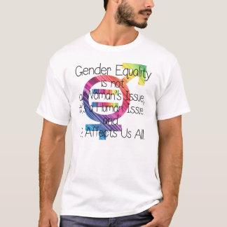 男女の平等 Tシャツ