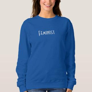 男女同権主義 スウェットシャツ