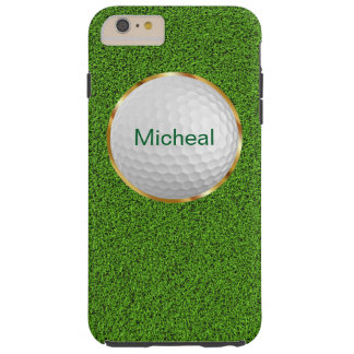 男子ゴルフテーマ TOUGH iPhone 6 PLUS ケース