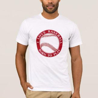 男子野球のテーマ Tシャツ