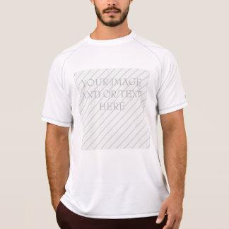 男子(カスタマイズ可能な)チャンピオンの倍の乾燥した網のティー Tシャツ