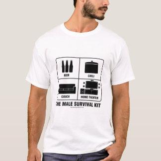 男性の存続キット Tシャツ