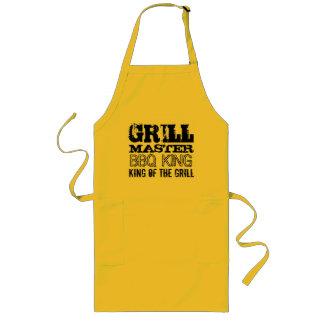 男性へグリルのエプロンのGrillMaster BBQ王 ロングエプロン