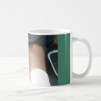 男性へストッキング コーヒーマグカップ