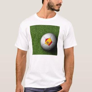 男性へスペインのTシャツ Tシャツ