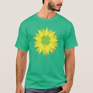 男性へセントパトリックの日のTシャツ Tシャツ